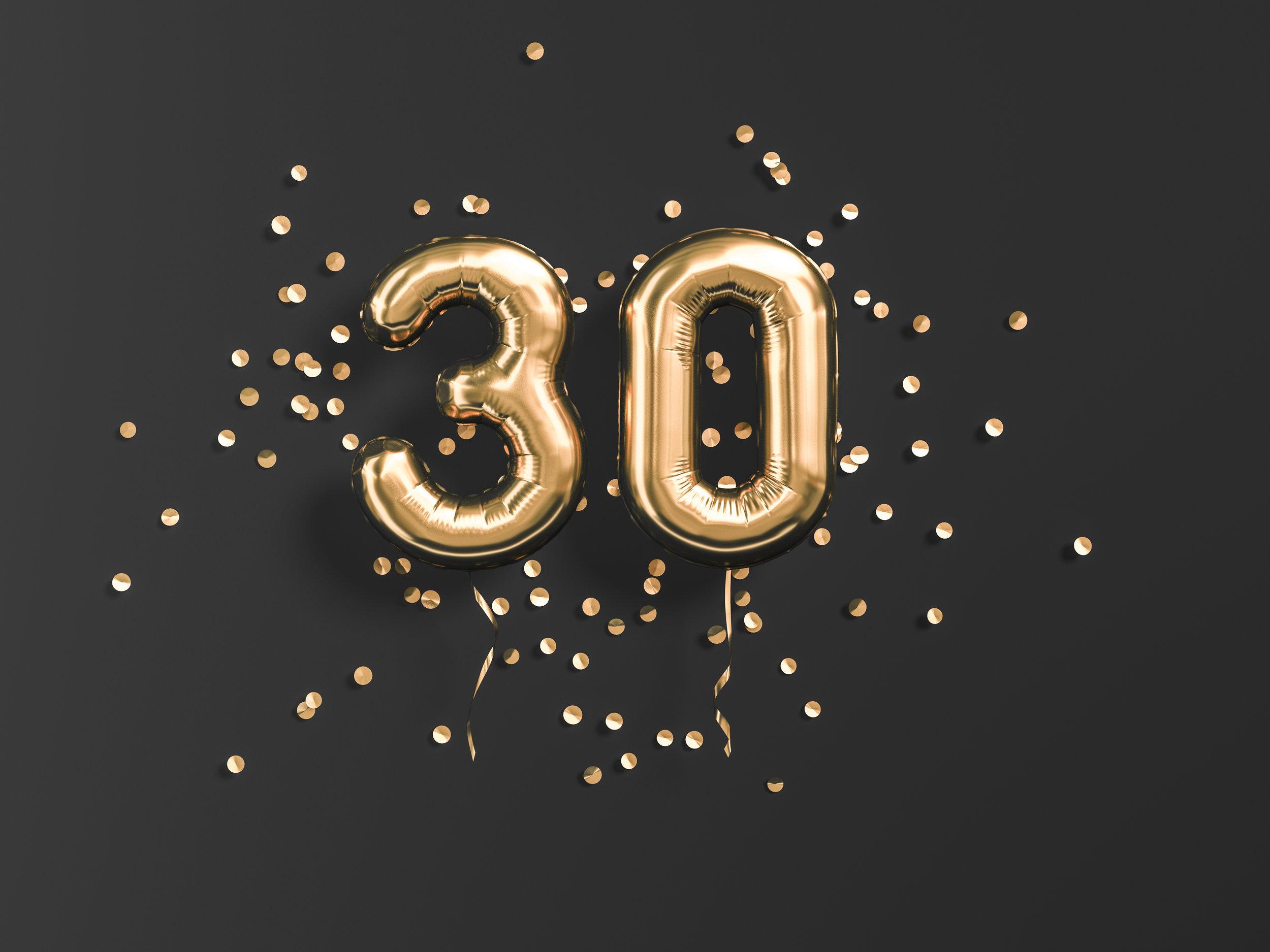 Celebrating 30 Years! - 1990-2020