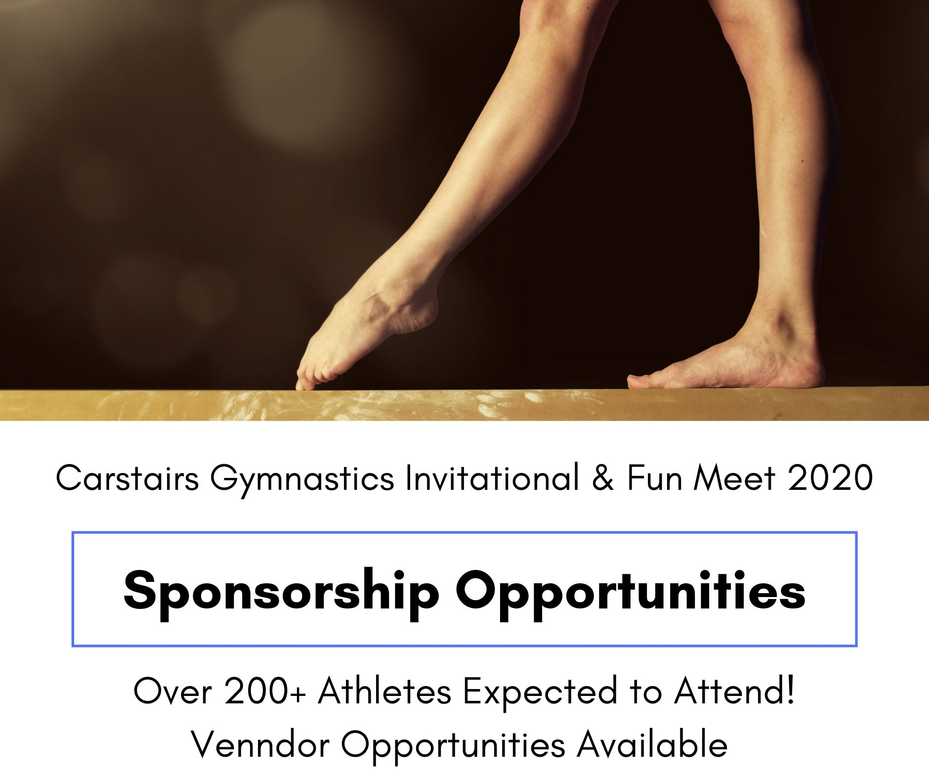 Support Carstairs Gymnastics. - Click Here to Sponsor the 2020 Carstairs Gymnastics Invitational and Fun Meet - January 25-26, 2020.Celebrating 30 years!
