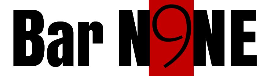 Bar N9ne