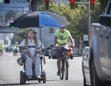 Coeur d'Alene --> Cascades --> Coast: Quadriplegic to ride electric wheelchair across Washington - Two years ago, Ian Mackay rode his electric wheelchair from Port Angeles, through Seattle and Pierce County and to Portland to raise awareness for the need for accessibility in the outdoors.This year, he's got a bigger mountain to climb — the North Cascades Highway.