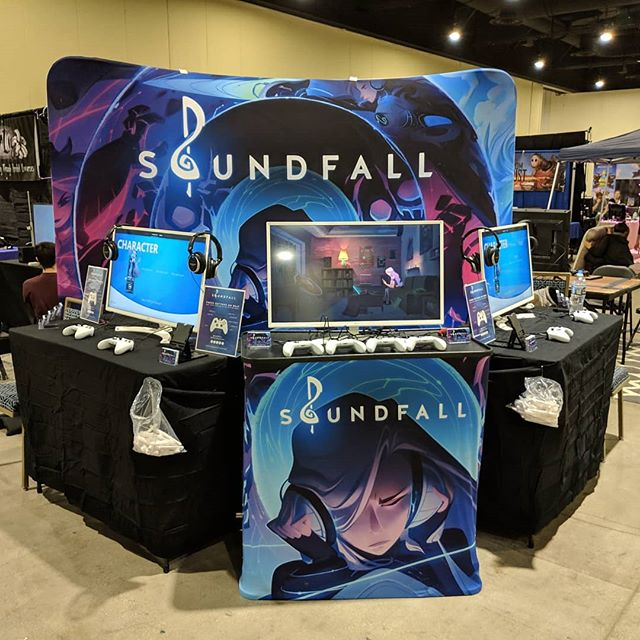 Soundfall is at the Magfest Indie Videogame Showcase! Who will be rocking out with us this weekend?! #magfest #indiegame