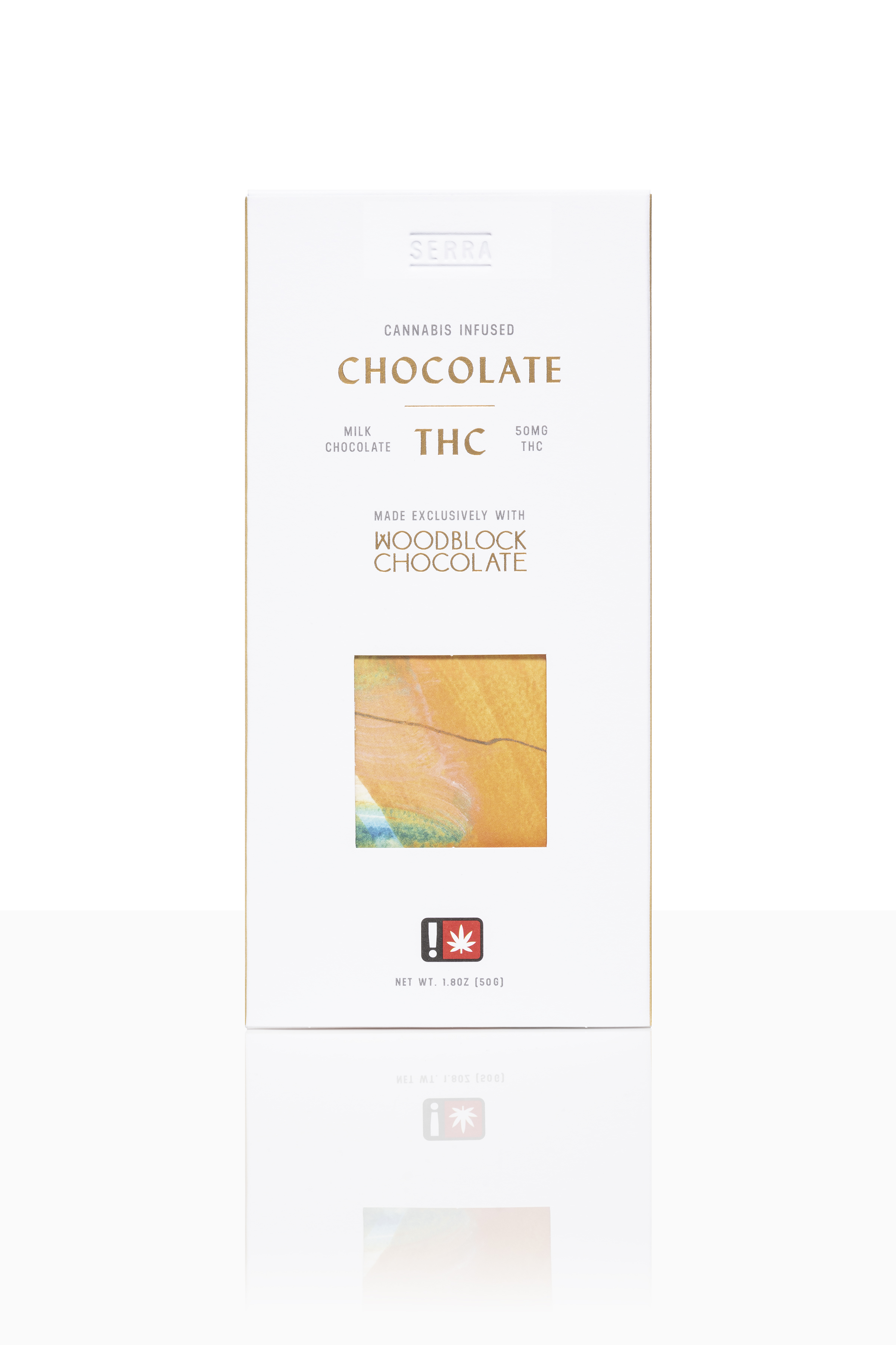 THC Milk Chocolate - Stable Relaxation.A smooth 45% milk chocolate made with Tanzanian and Ecuadorian cacao. Brightened by floral notes and a hint of caramel.Gluten-Free.50mg THC per large bar. 10 servings per large bar.20mg THC per small bar. 4 servings per small bar.