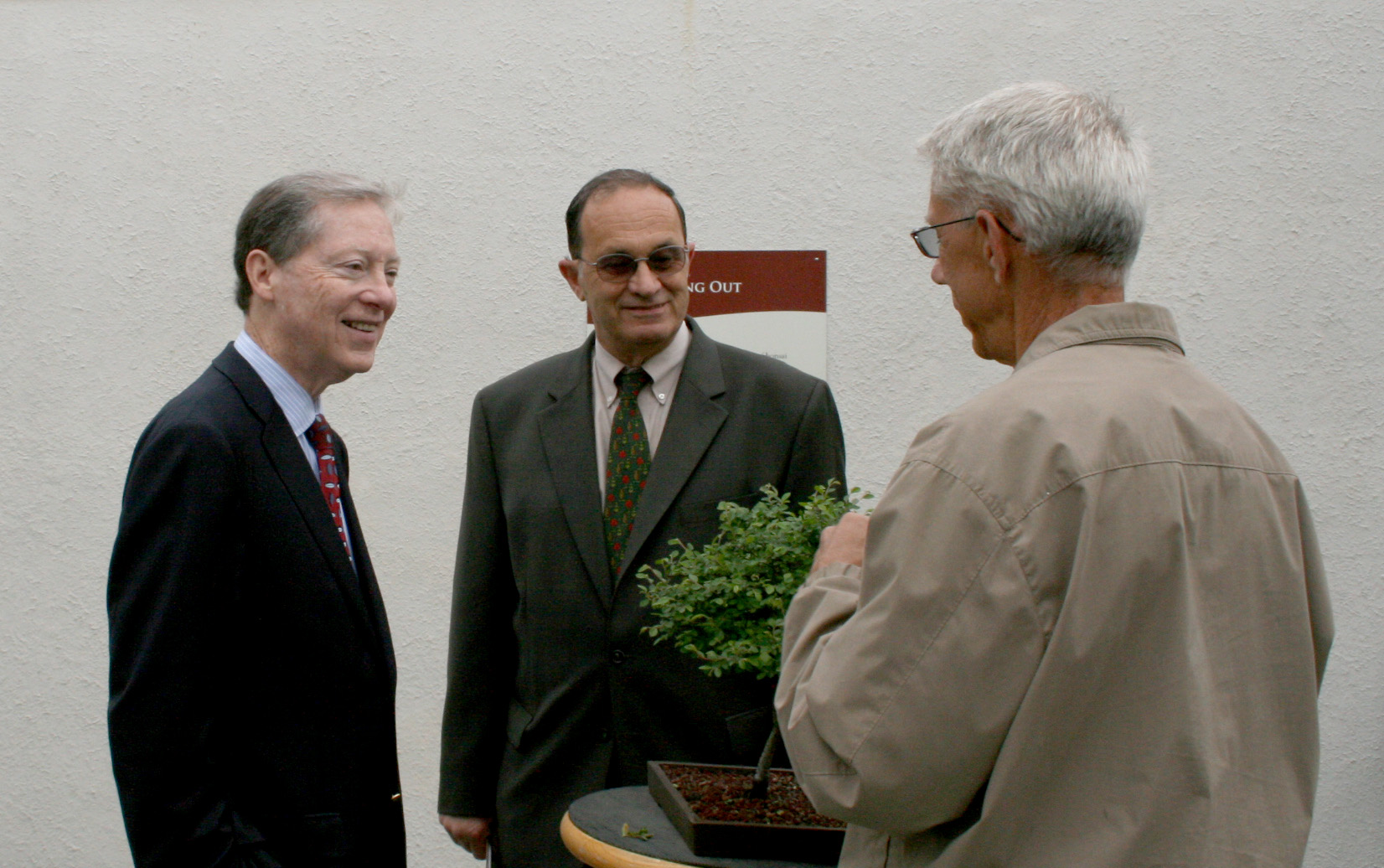 Laughlin (left), Elias (center), Hughes (right)