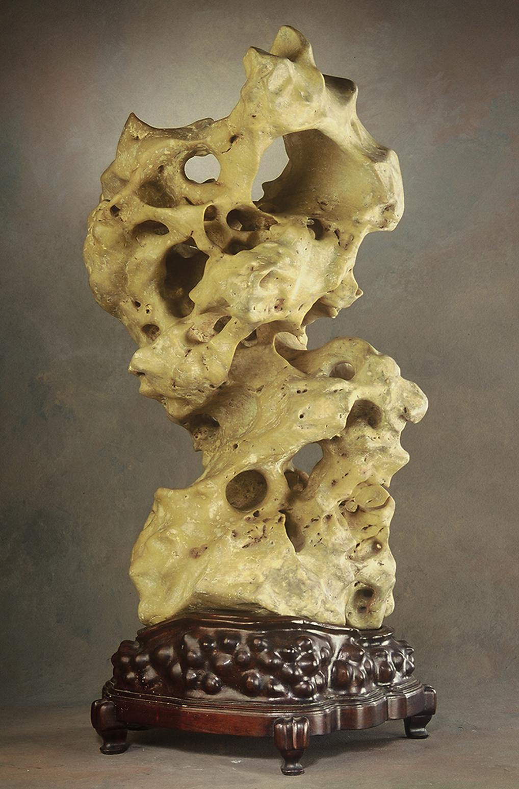 Chinese Scholars' Rock- Taihu Stone