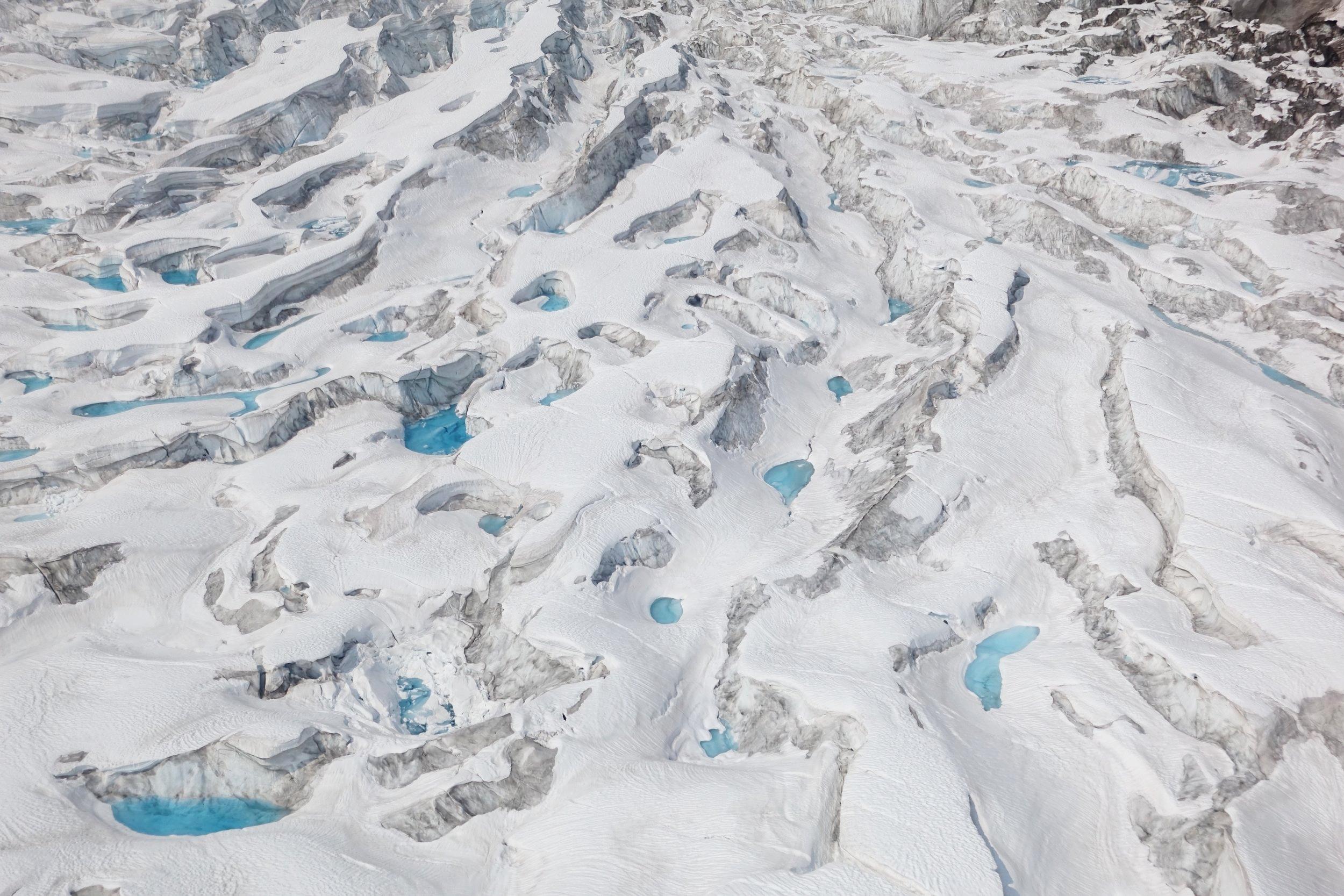 Ruth Glacier, Denali National Park, Alaska.