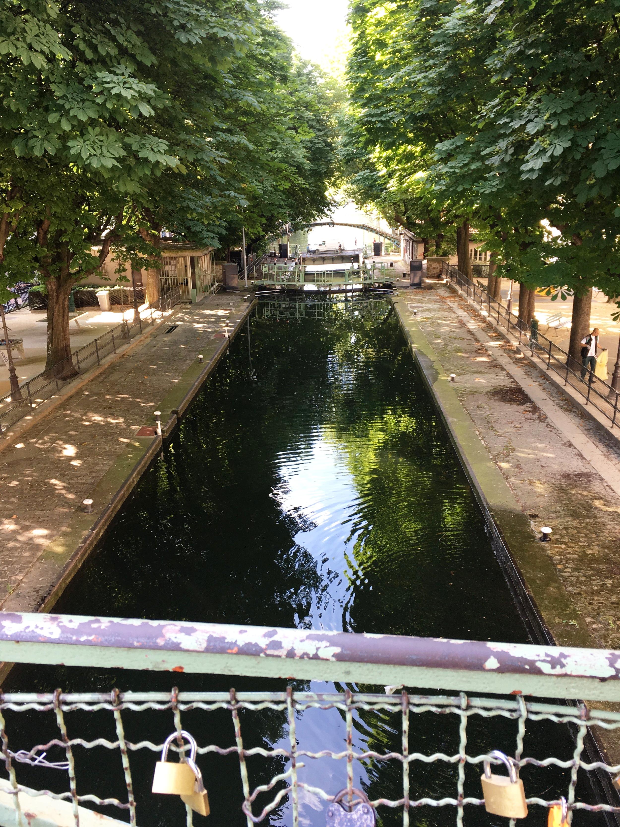 Canal St-Martin, Paris.