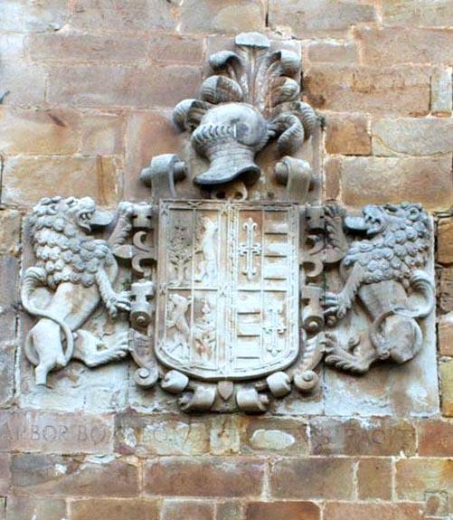 Escudo del Palacio de los Acebedo - HOZNAYO, Entrambasaguas