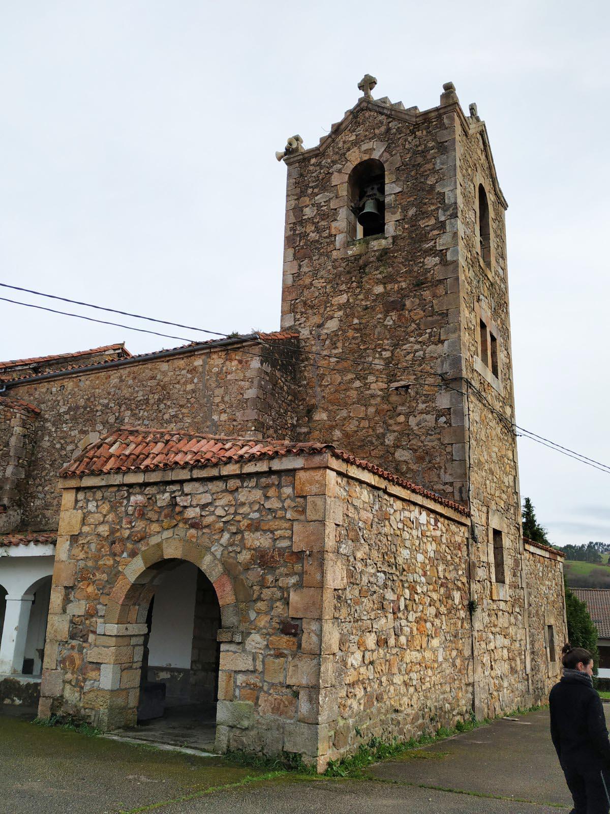 Iglesia parroquial de San Pedro, Seña en Limpias