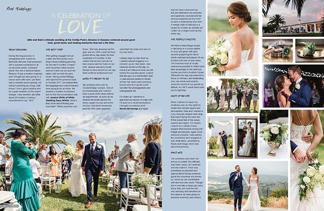 The best love is the one that awakens the soul.✨ Allie and Dale, we wish you a future full of love! 💕  Would you like your wedding featured in Confeti Magazine?  Contact us: enquiries@iconpublishing.es . . . . .  #weddinginspo #bridal #confetimagazine #marbella #weddingsspain #mr #mrs #bridal #bridetobe #bridalinspiration #wedding #planyourwedding #weddingsday #destinationwedding #morningbride #weddingstyle #flowers
