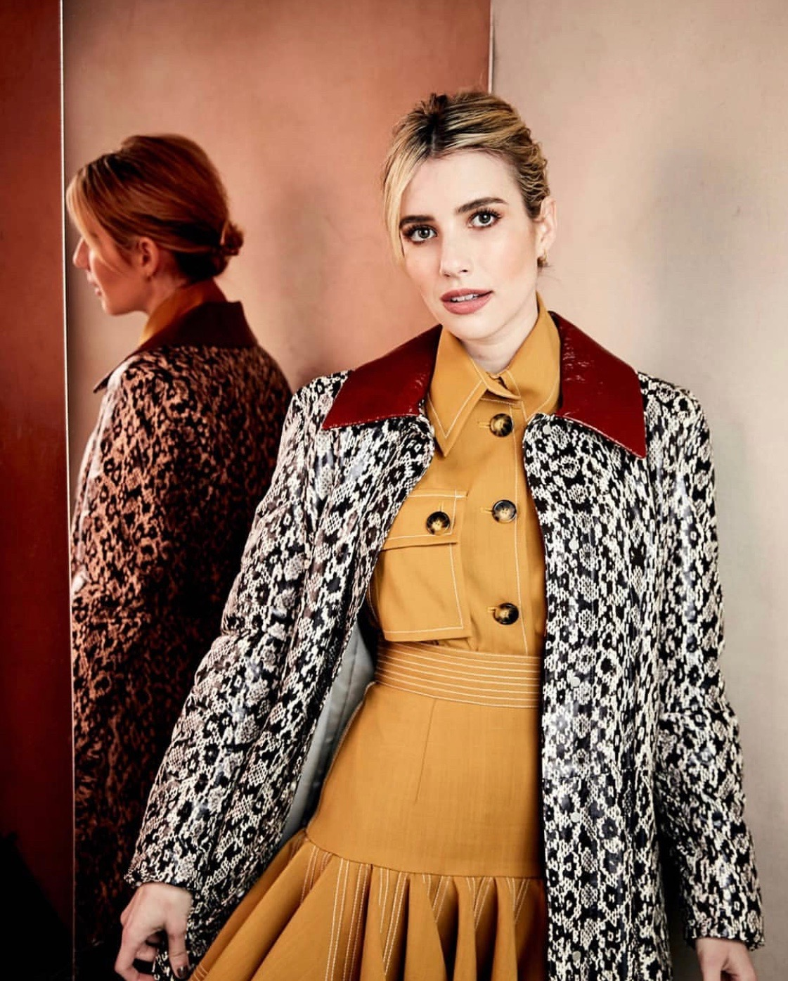 Emma Roberts Sundance Filmfestival Makeup by Nikki DeRoest