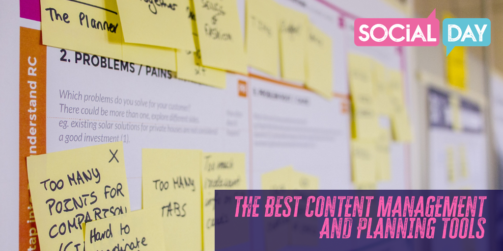 Your list of the best Social Media content management tools.