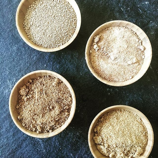 A sneak peak of what's ahead. Unrefined, single origin sugars, each with their own unique flavor. Stay tuned. #madison #sugar #singleorigin #raw #unrefined