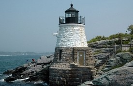 NEWPORT, RHODE ISLAND - The Vanderbilts, Astors and other tycoons of the industrial revolution built their palatial