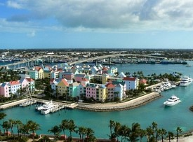 NASSAU, BAHAMAS - This capital city is a constant reminder of British influence in the Bahamas. Shoppers will want to hit the famous straw market, while those looking for some relaxation will find their place on the white-sand beaches of Paradise Island. Snorkeling and diving excursions and outings to Crystal Cay and Blue Lagoon Island also are popular. Ships dock just steps from downtown, making it easy to explore on foot.