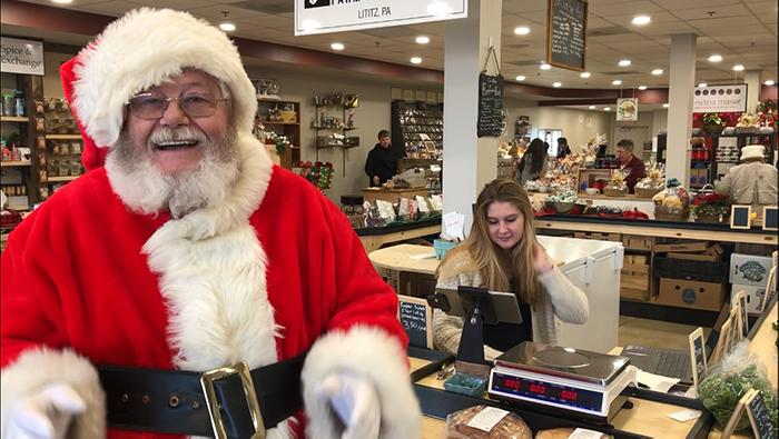 Santa is here December 15!