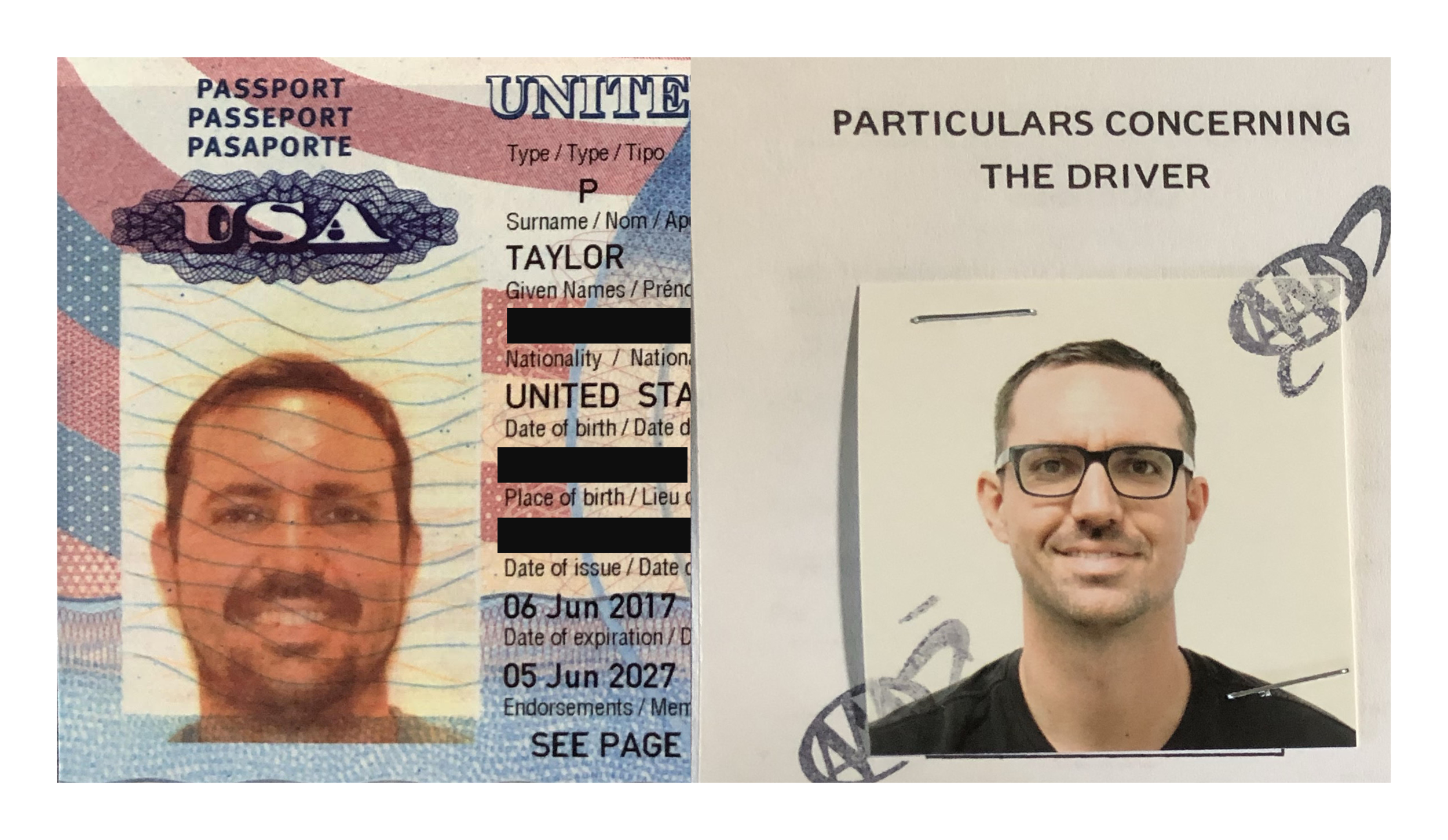 Passport and Costa Rica Drivers License (edited) with padding.png
