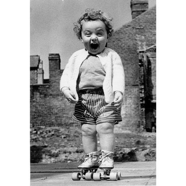 NEW SHOW COMING SOON and we might be just as excited as this adorable kid ! #staytuned • • • Summer Monday vibes brought to you by old school Photographer, Robert Doisneau .