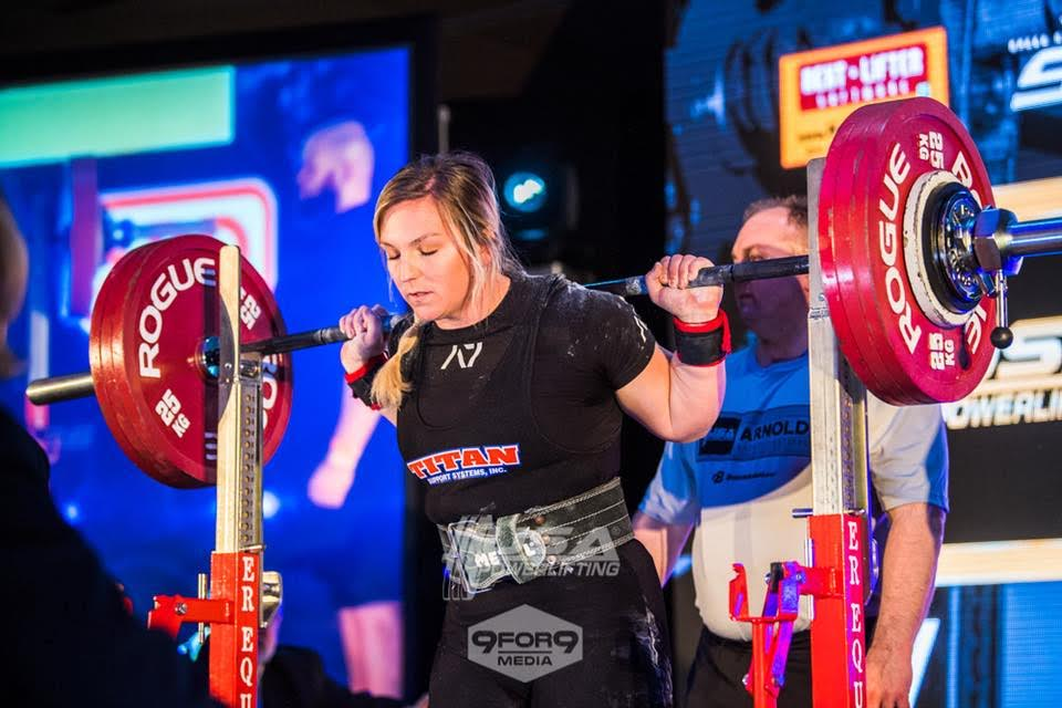 I started training with James in October of 2017 after I competed in my second meet at the USA Powerlifting Raw Nationals. I was new to the powerlifting world, and had only been training for about a year, so I was looking for someone that could help mentor and teach me about this sport. He helped me prepare for the 2018 A7 Bar Grip Pro Raw Challenge at the Arnold. His programming is sound, and the best that you can get. He was also able to help manage a shoulder injury through programming during training, and I was still able to manage big personal records across the board. His programming helped me place 10th overall at the Arnold with a 20 point jump in wilks, 44 pound total increase, and personal records in all three lifts.