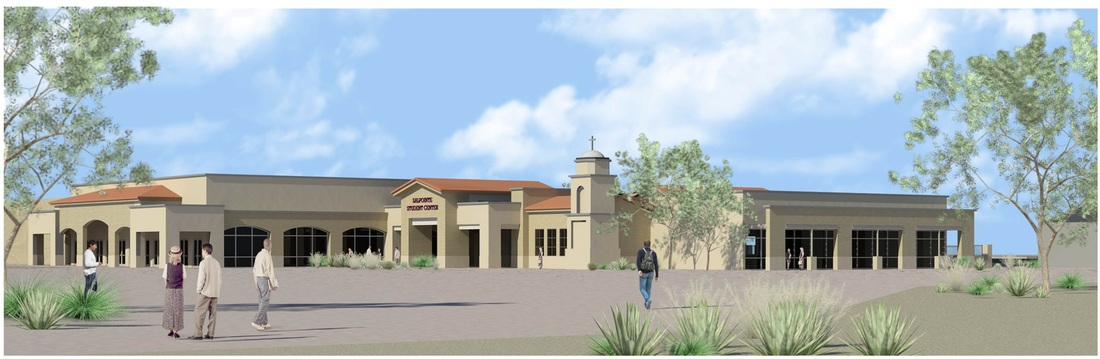 $12 Million Campaign for a new student center from 2011 - 2013