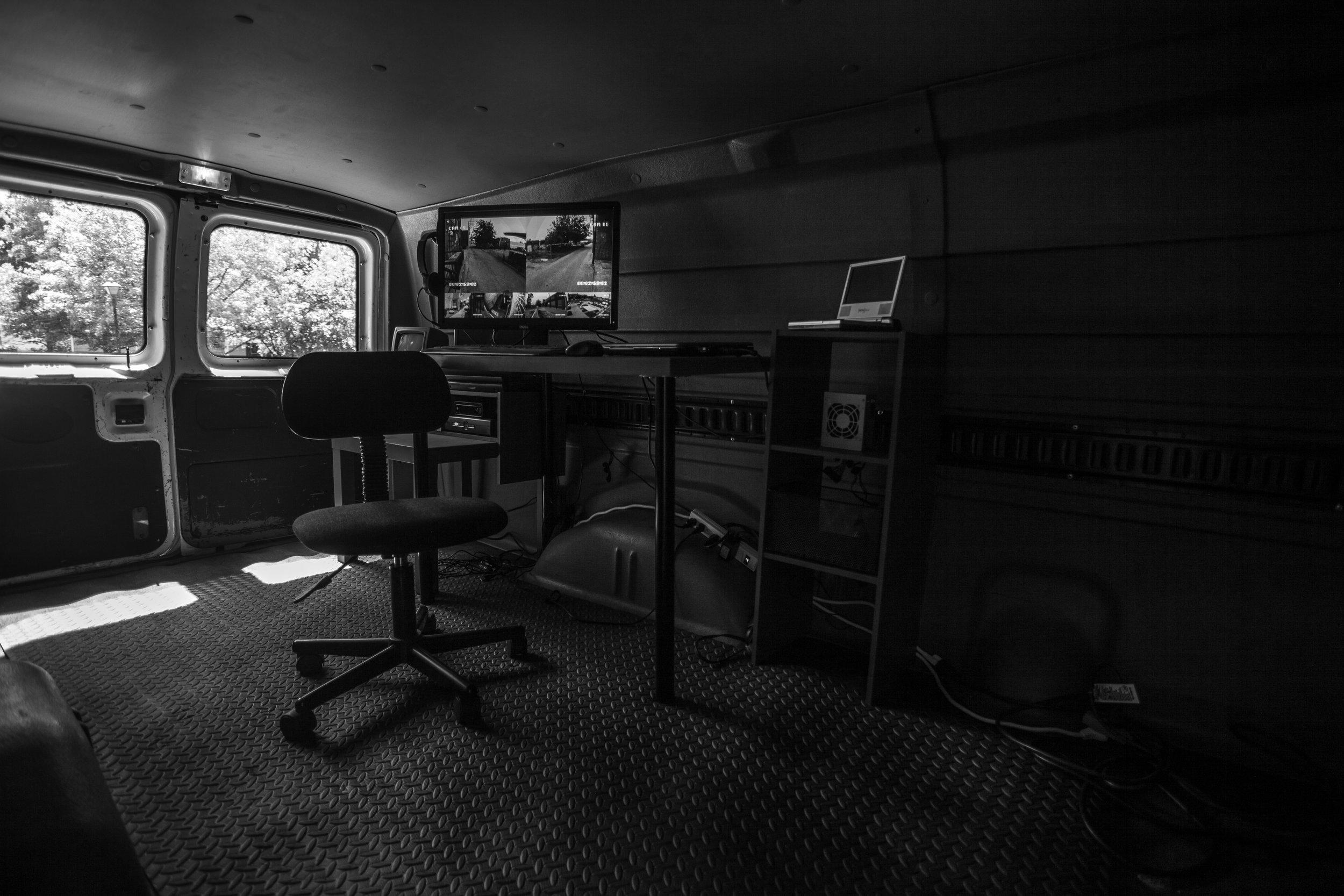 surveillance Van -