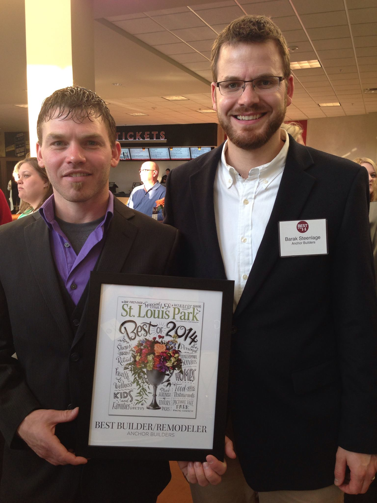 Best Builder/Remodeler of 2014- St. Louis Park Magazine
