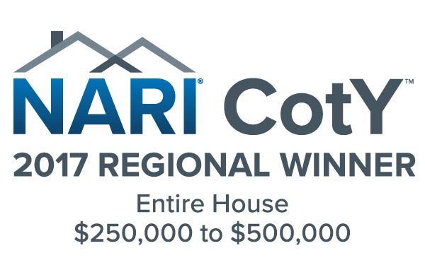 NARI CotY Regional Award Winner 2017- Entire House $250,000-$500,000