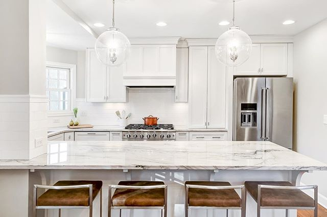 It's almost here!?? This weekend, join us at this newly remodeled home on the @batchousingfirstmn @paradeofhomestc Remodelers Showcase Tour from 12-6pm. We are #R35 in the remodelers showcase guidebook, that you can pick up at your local @holidaystationstores gas station. Can't wait to see you there! . . .  #makeovermonday #BATC #paradeofhomes #remodelersshowcase #R35 #remodel #tile #designbuild #transformation #kitchenremodel #kitchen #whitekitchen #quartz #subwaytile #Spring2019