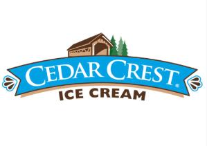 Proudly Serving Cedar Crest Premium Ice Cream -