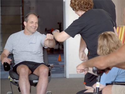 Our Mission - MSforward is a 501(c)(3) organization that was created in 2003 to meet the needs of individuals requiring movement and strengthening to help combat the effects of disease or aging.We are a community offering a place for people to gather and improve their mental and physical fitness. Inspiring you to live an active life and celebrate your abilities is the focus of all we do.Exercise, once thought as counter-productive to the treatment of many illnesses, has proven to be vastly effective therapy to combat the devastating effects of disease.Learn More