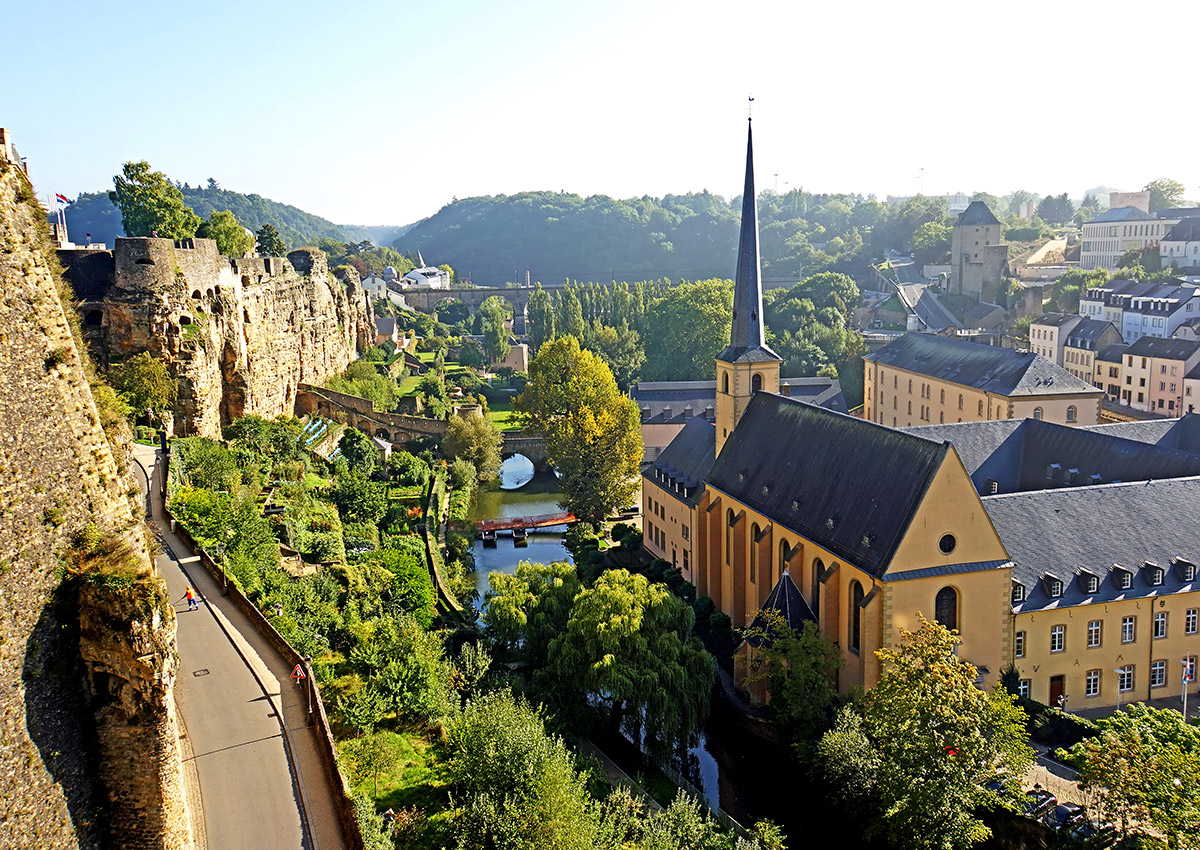 Luxembourg, my current home.