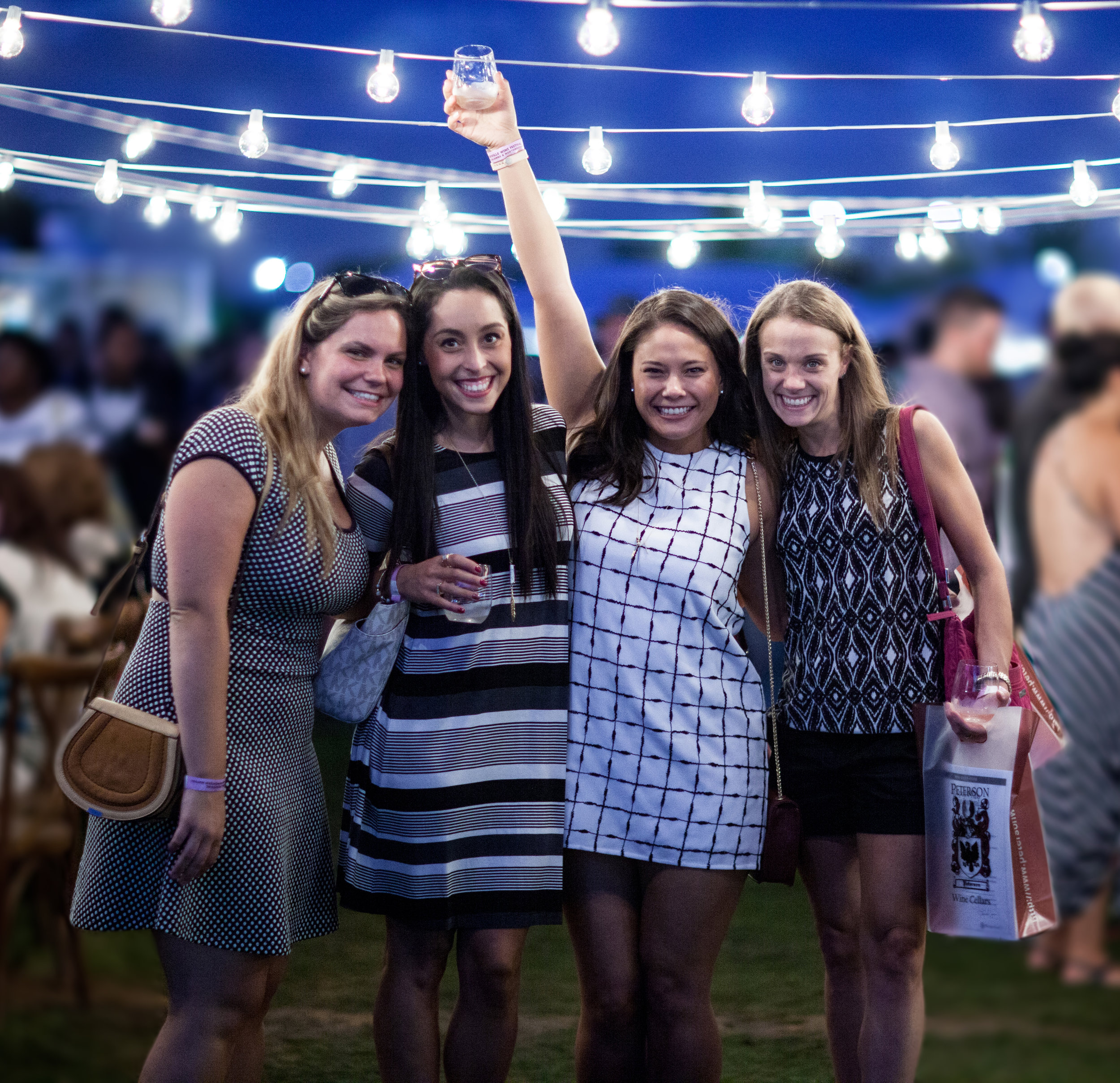EVENT PHOTOGRAPHY & EVENT BRANDING  for Naperville Wine Festival.