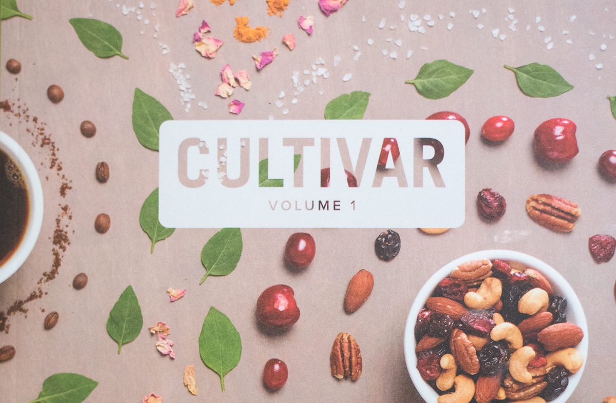 Cultivar Issue #1   Cultivar officially launched in the summer of 2017 as a biannual company magazine designed to celebrate the innovative work of plant-grown foods company Ferris Coffee & Nut. Ferris hired me as their ongoing Managing Editor for this publication.