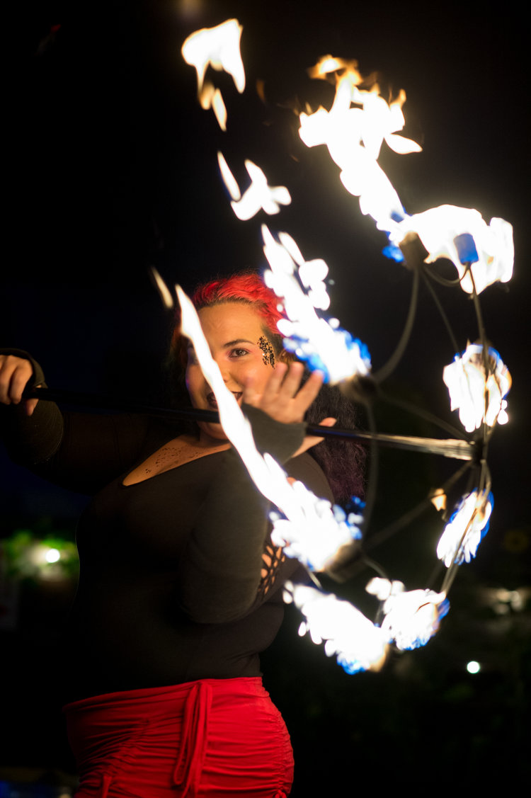 Copy of Fire Performers