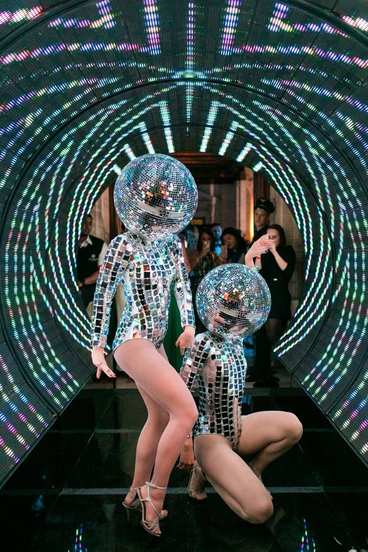Copy of Disco Ball & Mirror Dancers