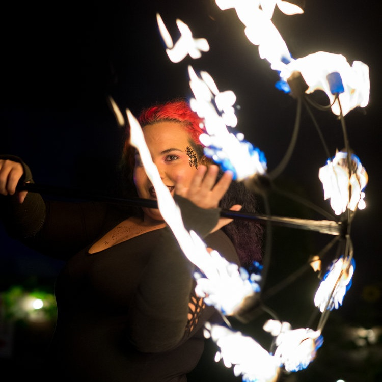 Fire Performers - Bring the festivals vibes to your event with tasteful and artistic fire performances. Safe yet exciting, our insured fire performance team knows how to bring the heat.
