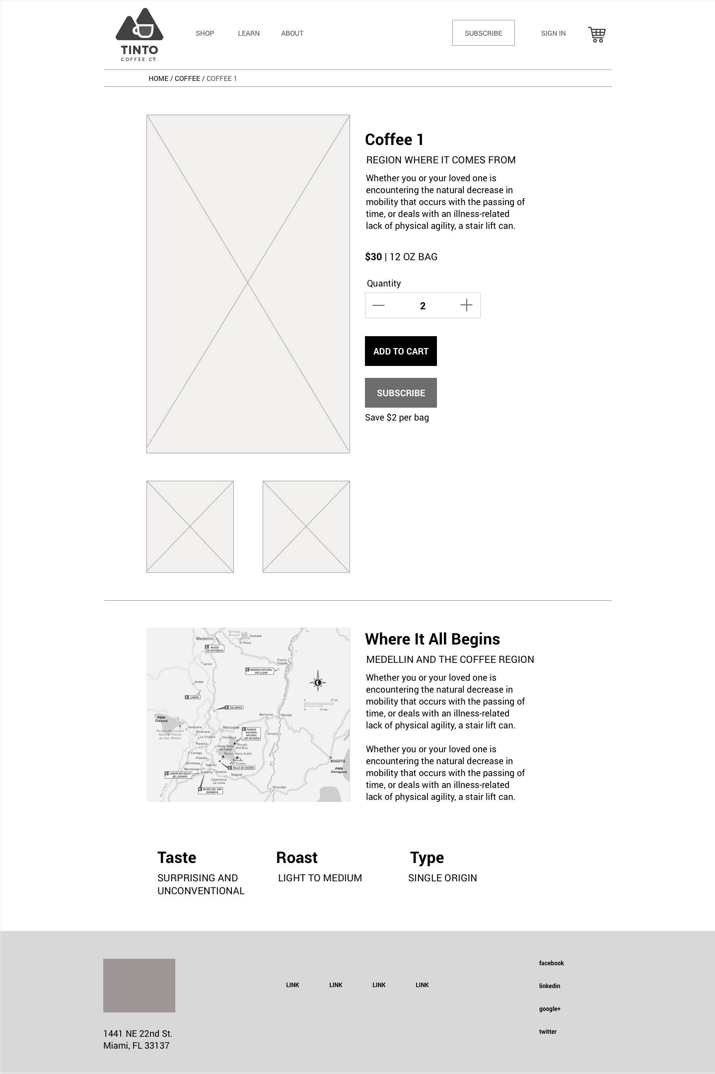 Product Detail Page