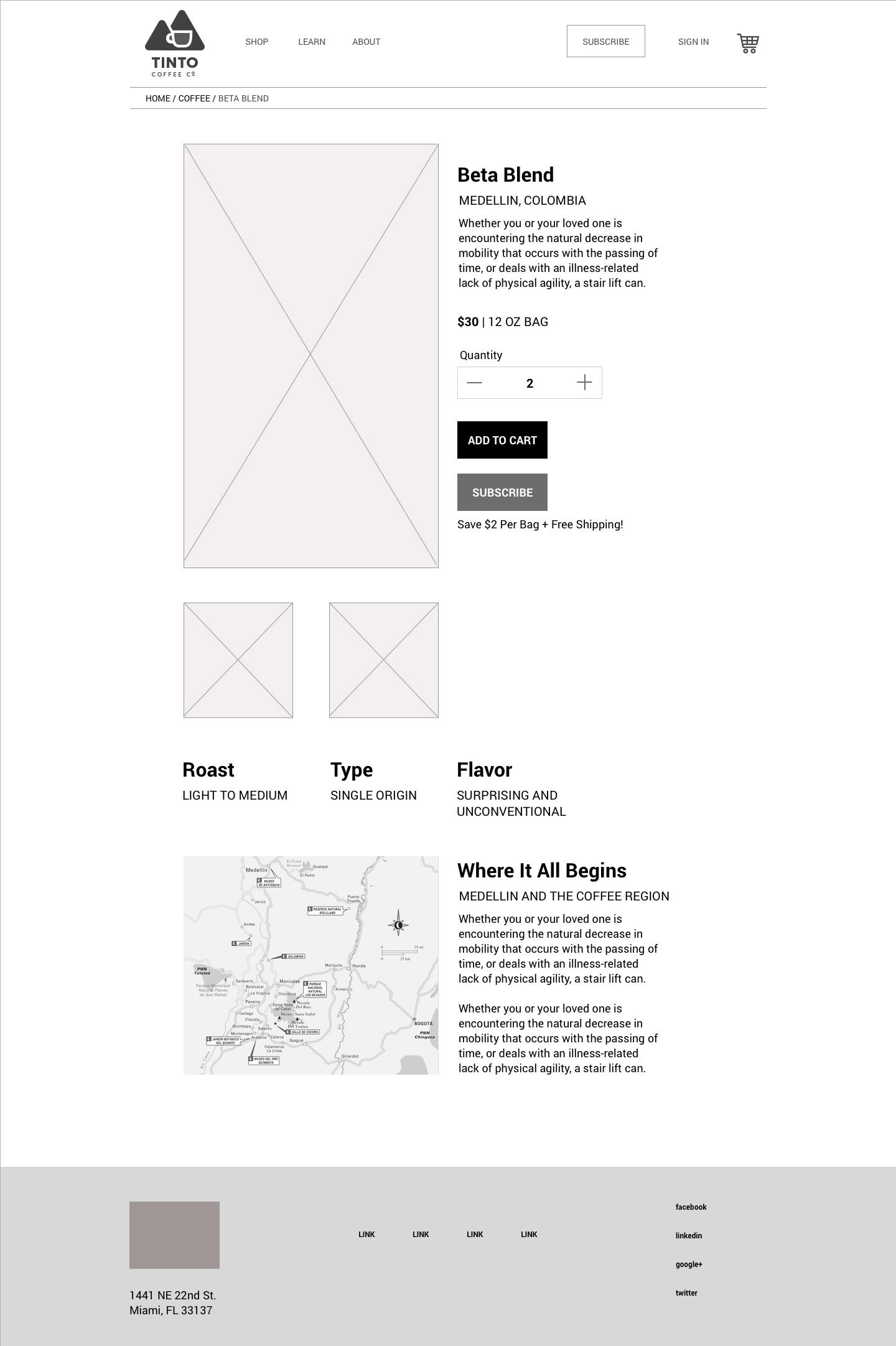 Product Detail Page V2