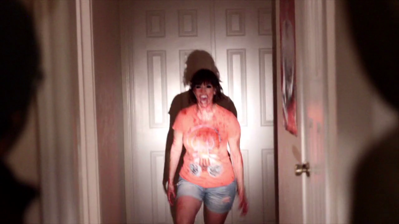 Two burglars break into a home where something horrific awaits.