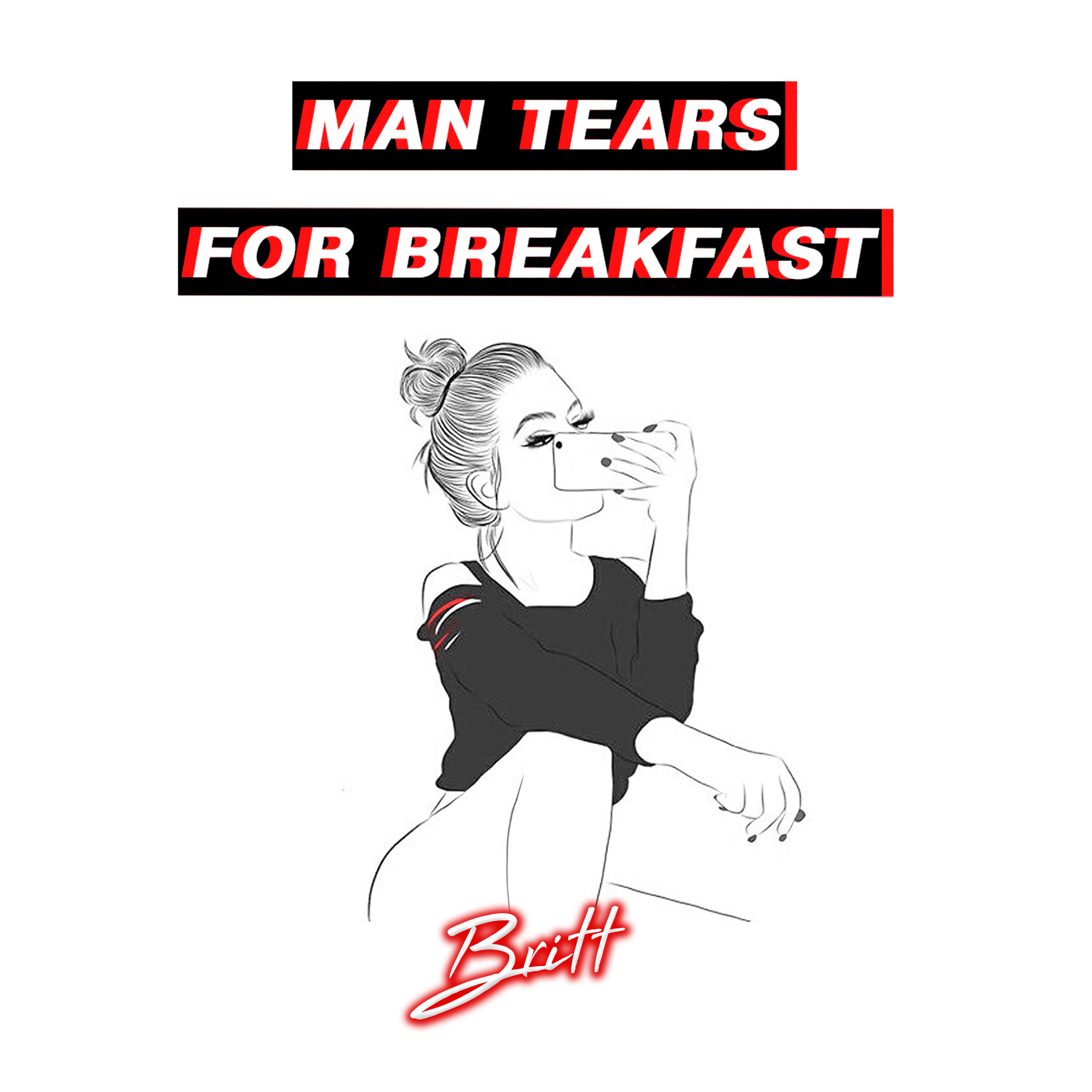 Man Tears for Breakfast Britt Music