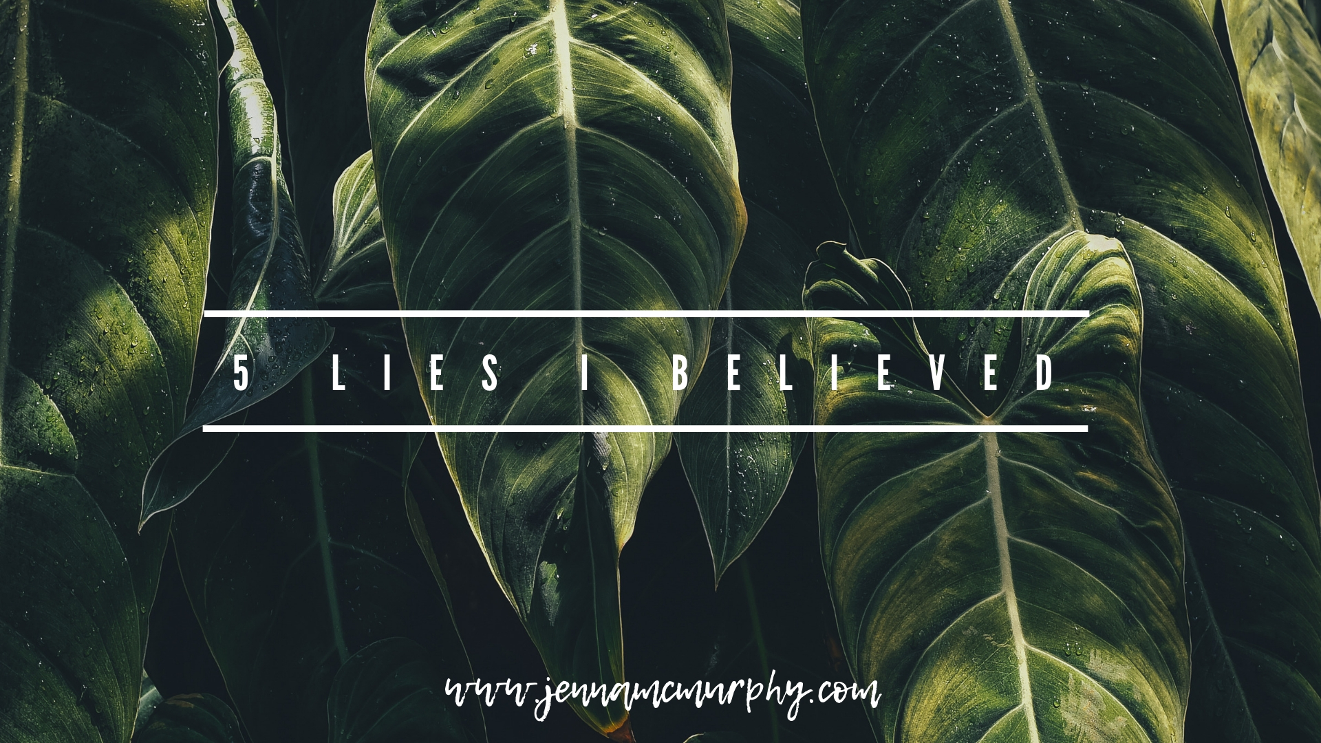 5 lies i believed.jpg