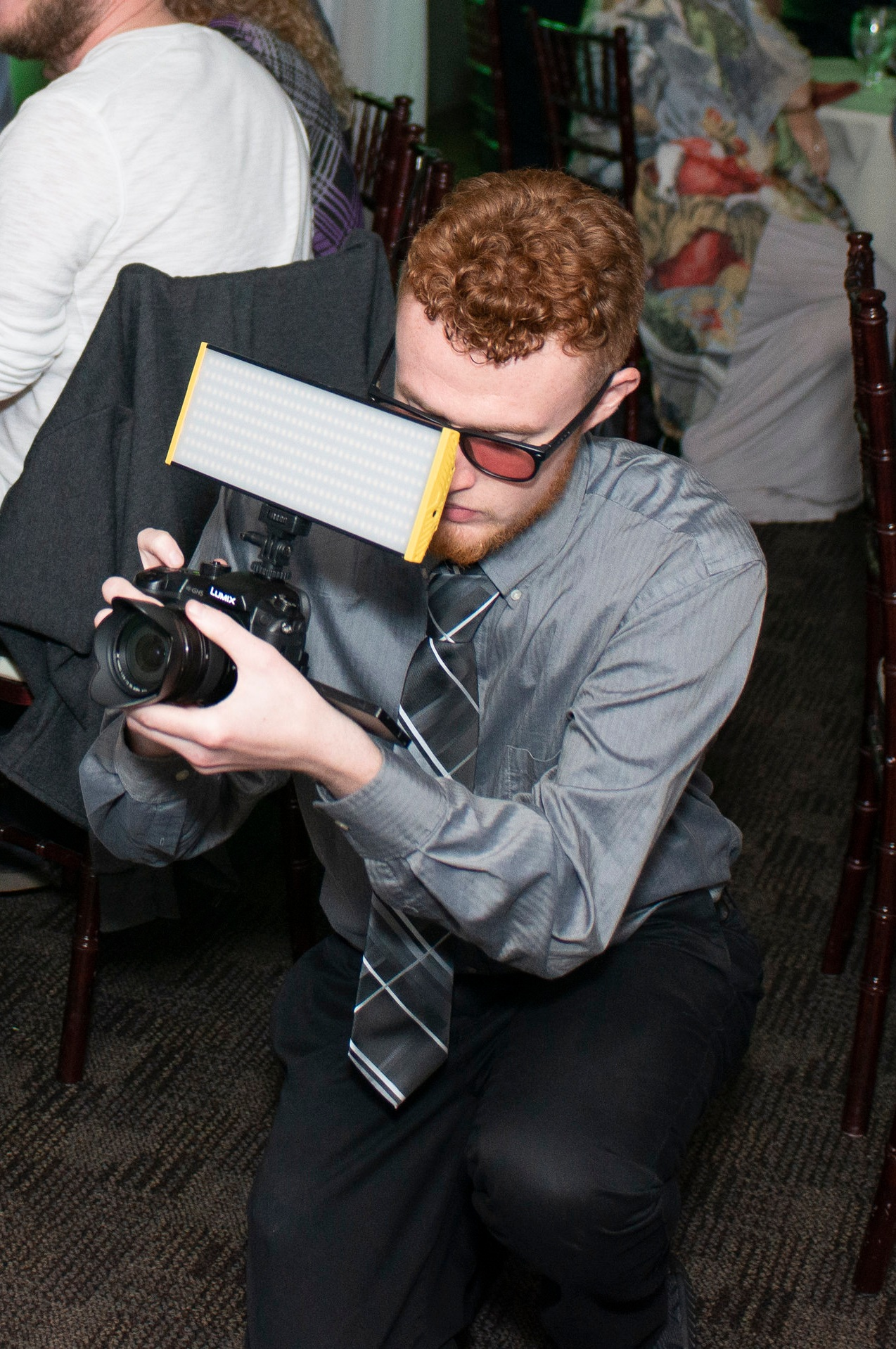 Video - We can make your event a movie. With multiple high-quality cameras, lighting and extensive audio capabilities, we can capture every angle of any event.