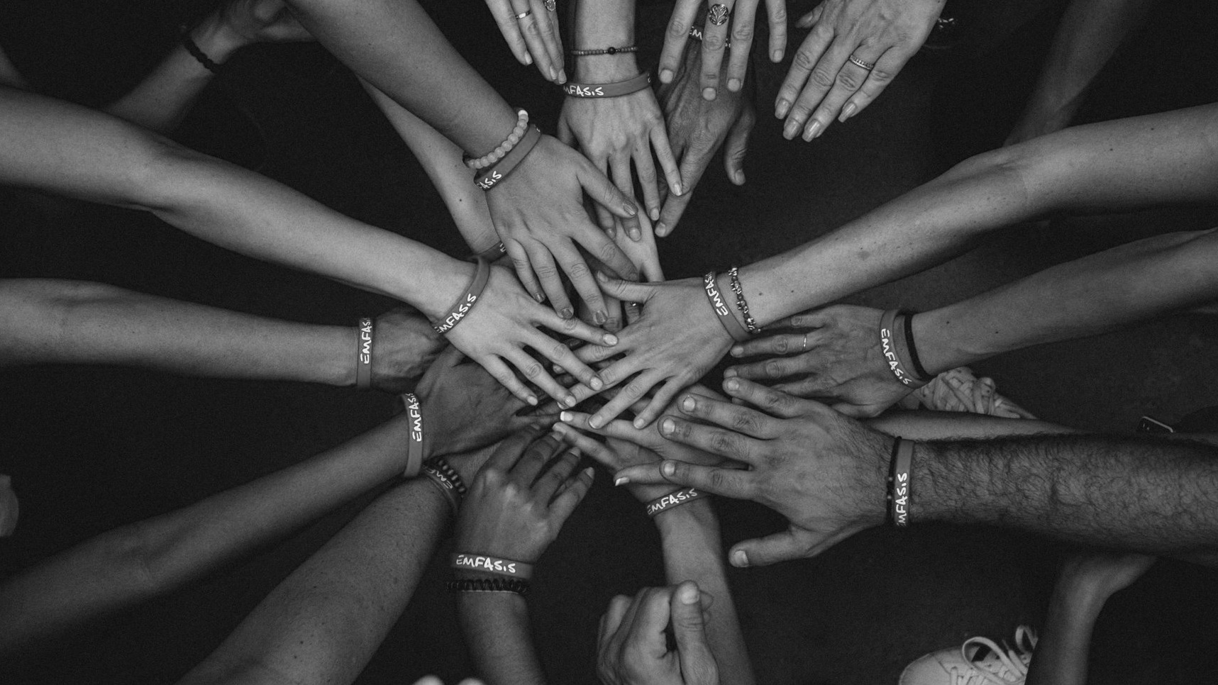 Group Therapy Hands Connection photo