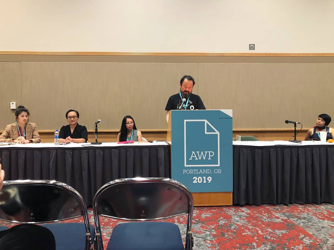 I feel so lucky to have shared a conversation with these writers!  #AWP 2019