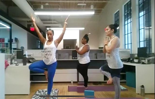 Incredibly proud of these group of trainees from summer 2019 @arrichionteachertraining for teaching their 45 minute original yoga class to a FB live audience!! They are wrapping up the final week! Looking forward to working with  many of these trainees onsite in Raleigh this coming week! . . #arrichion #arrichionteachertraining #yogateachertrainjng #arrichionstrong #ytt #arrichionfamily #yogateacher