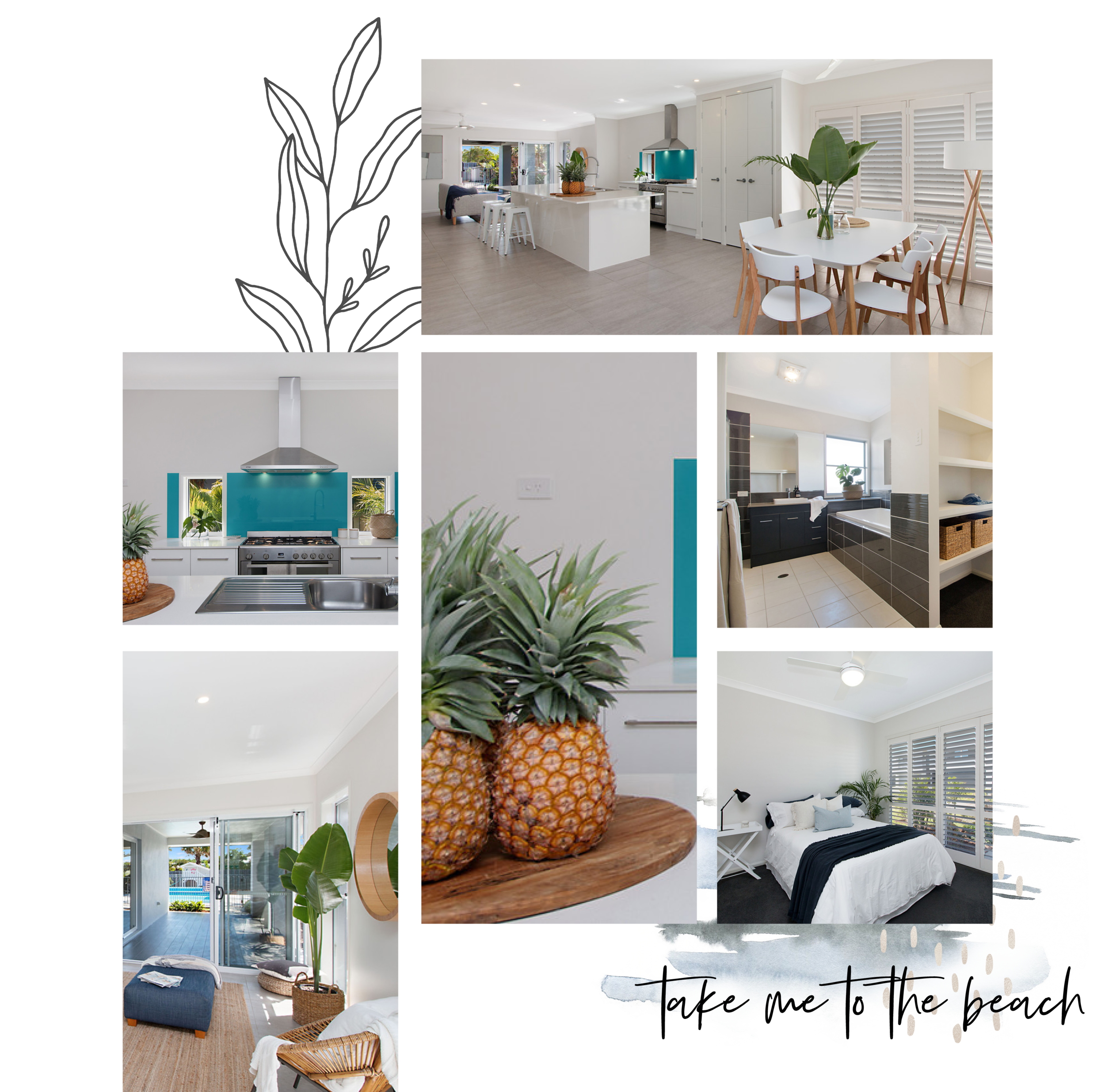 Kingscliff Tweed Coast Property Styling Project by Wild Rabbit Interiors