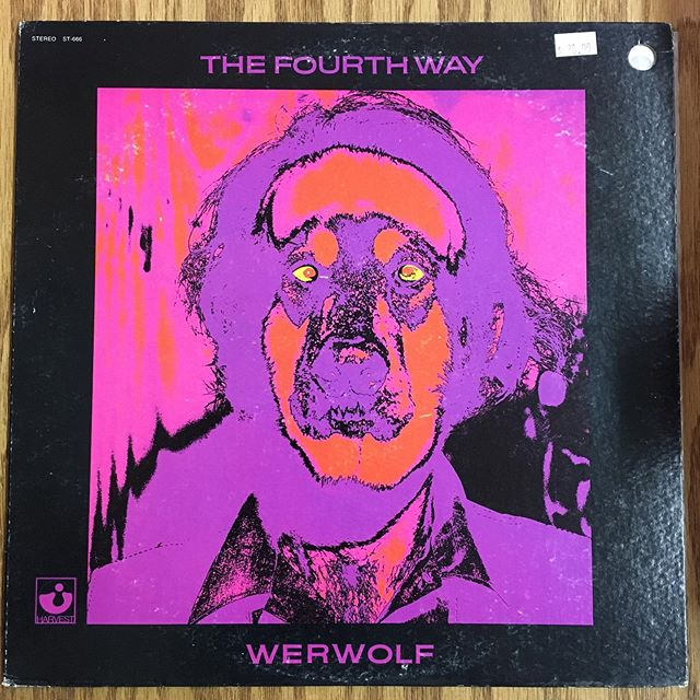 The Fourth Way 'Werewolf', feom 1970 on Harvest Records. All 3 releases by this group are essential in my opinion. Tight funky jazz funk grooves led by Michael White on Violin and Mike Nock on Rhodes. Top shelf and affordable. #vinyl #records #jazzfunk #raregroove #michaelwhite #mikenock #funk #loops #thefourthway #harvestrecords #montreuxjazzfestival #newhaven #ct #elmcity #westville #recordstores