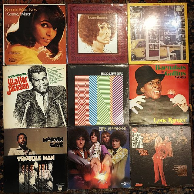 Some new arrivals getting cleaned, priced and going out soon. #vinyl #records #jazz #psych #funk #soul #reggae #breaks #loops #ditc #newhaven #westville #elmcity
