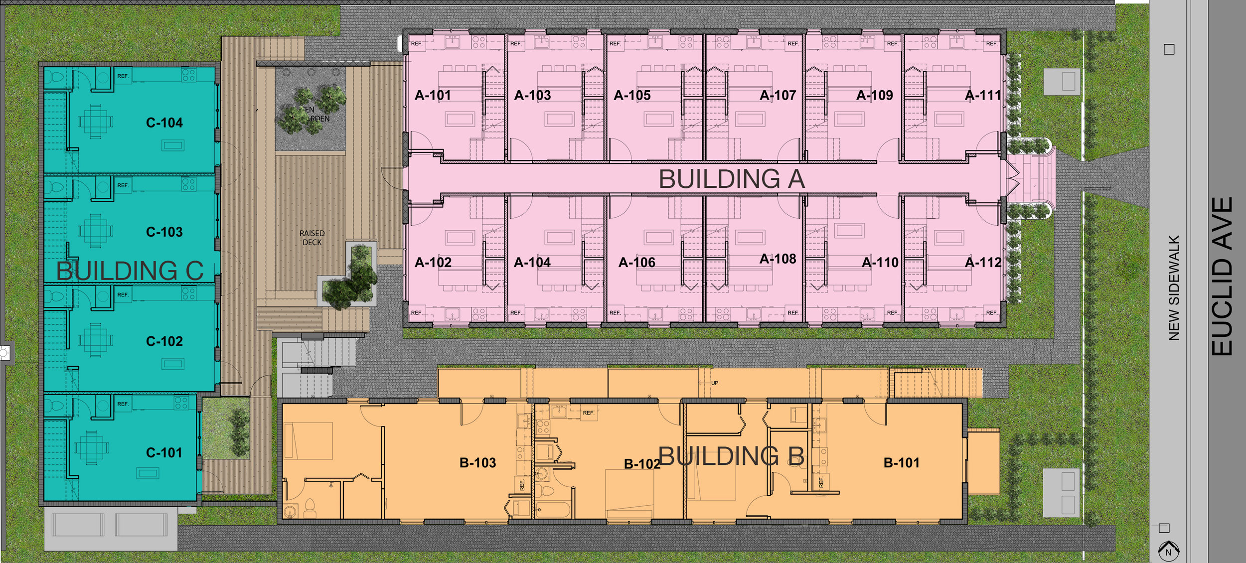 Canterbury's Site Plan