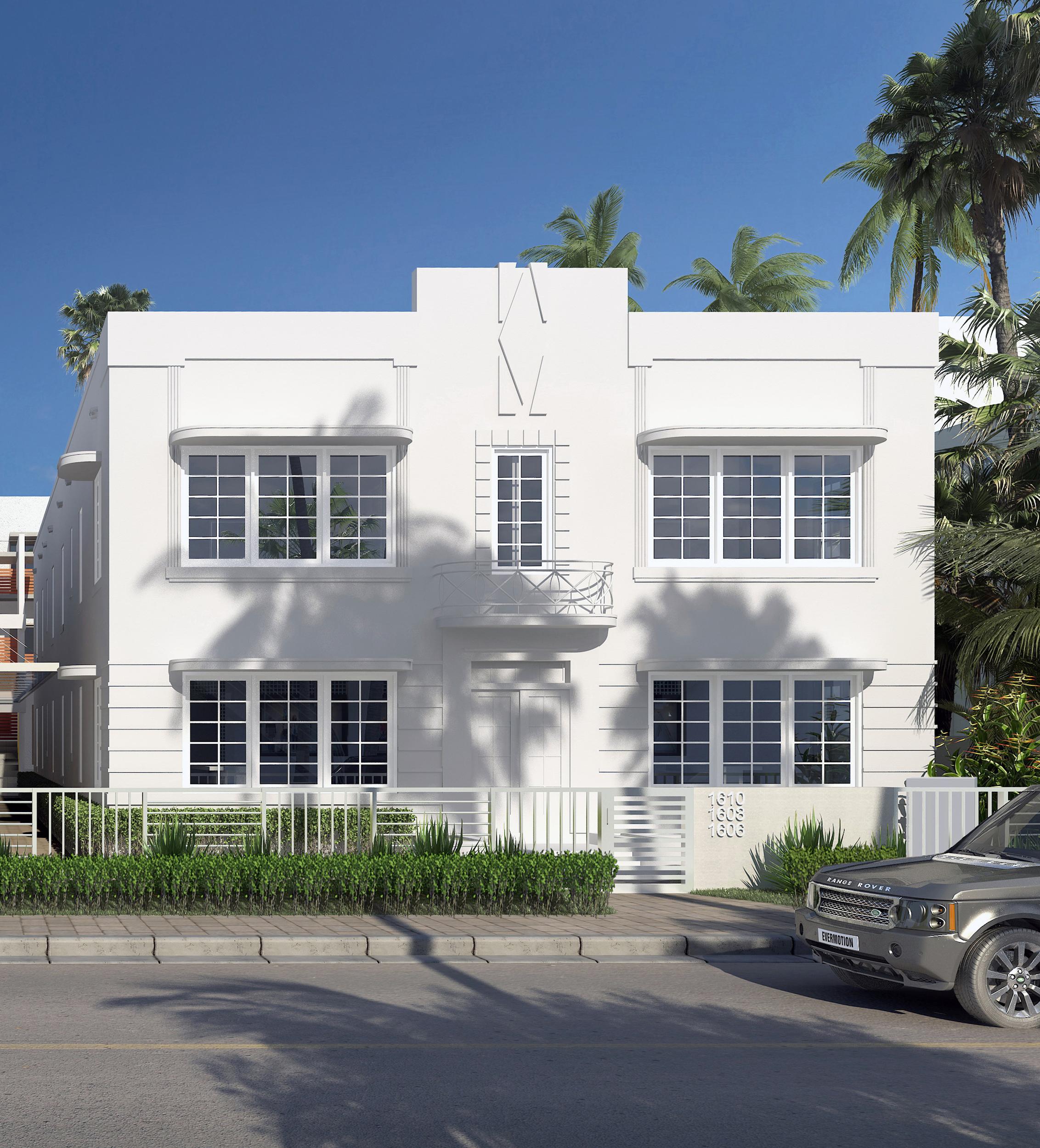 """Front Facade - Building """"A"""""""