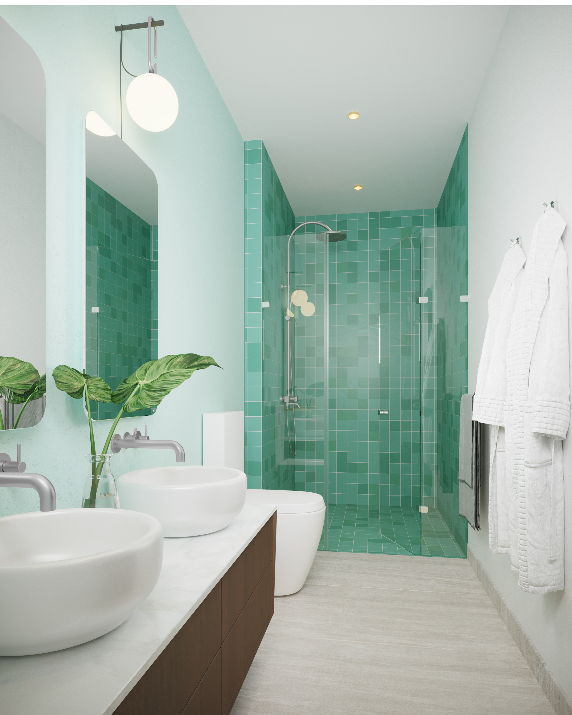 Master Bathroom (Typical) - Unit C104